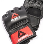 Перчатки Reebok для MMA Combat Leather Glove Large (RSCB-10330RDBK)