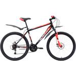 Купить Велосипед Black One Hooligan 26 D чёрный- красный- белый 18