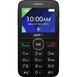 Мобильный телефон Alcatel OneTouch 2008G Black/Metal Silver
