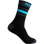 Купить Водонепроницаемые носки Dexshell Ultra Dri Sports Socks XL (47-49) с голубой полосой