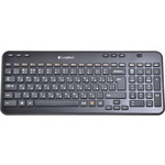 Клавиатура Logitech Wireless Keyboard K360 Black USB (920-003095)