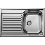 Купить Мойка кухонная Blanco Tipo 45 s compact нерж сталь полированная (513442)