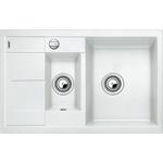 Купить Мойка кухонная Blanco Metra 6 s compact белый с клапаном-автоматом (513468)