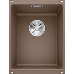 Купить Мойка кухонная Blanco SubLine 320-u серый беж с клапаном-автоматом (517427)