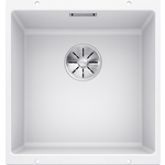 Купить Мойка кухонная Blanco SubLine 400-u белый с клапаном-автоматом (515754)