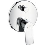 Купить Смеситель для ванны Hansgrohe Metris к ibox universal (31493000)