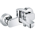 Kludi Logo-Neo 37681 0575  смеситель для ванны коллекция logo neo 376810575 однорычажный хром kludi клуди
