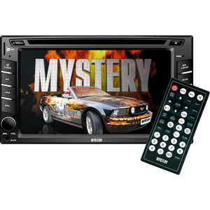 Автомагнитола Mystery MDD-6220S магнитола mystery bm 6108u black cd mp3