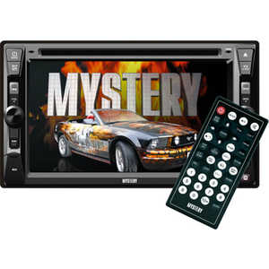 Автомагнитола Mystery MDD-6240S магнитола mystery bm 6108u black cd mp3