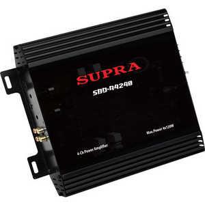 Усилитель Supra SBD-A4240 усилитель звука supra sbd a4240 4 канальный