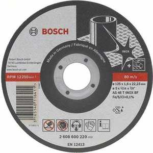 Диск отрезной Bosch 115х22.2х1.0мм Best for Inox-Rapido Long Life (2.608.602.220)