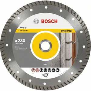 Диск алмазный Bosch 150х22.2мм Standard for Universal Turbo (2.608.602.395) диск алмазный bosch 150х22 2мм professional for universal 2 608 602 193