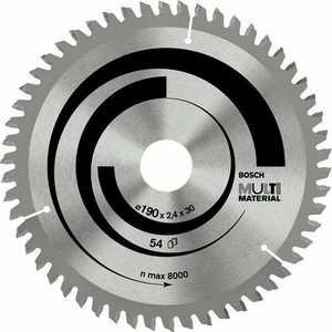 Диск пильный Bosch 150х20/16мм 42зуба Multi Material (2.608.640.501) диск пильный bosch 230х30мм 64зуба multi material 2 608 640 513