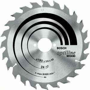 Диск пильный Bosch 190х20мм 36зубьев Optiline Wood (2.608.640.613) диск пильный твердосплавный bosch optiline wood 305x60x30 gcm 12 2 608 640 441