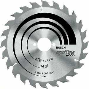 Диск пильный Bosch 230х30мм 24зуба Optiline Wood (2.608.640.627) диск пильный bosch 230х30мм 36зубьев optiline wood 2 608 640 628