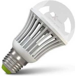 Фотография товара светодиодная лампа X-flash XF-BGD-E27-9W-3000K-220V Артикул 42876 диммируемая (107927)