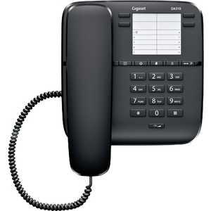 Проводной телефон Gigaset DA310 black телефон проводной gigaset da310 white