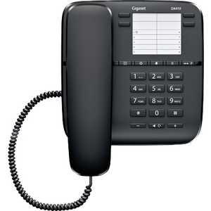 Проводной телефон Gigaset DA410 black телефон проводной gigaset openstage 40 t lava black