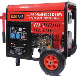 Генератор дизельный сварочный Prorab 5001 DEBW prorab lpg 15 h