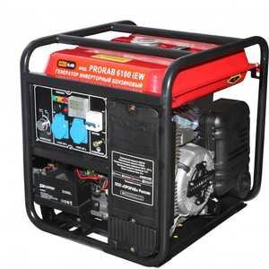 Генератор бензиновый инверторный Prorab 6100 IEW бензиновый генератор hyundai hhy3000f в белгороде