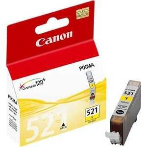 Картридж Canon CLI-521Y (2936B004) canon cli 521y yellow