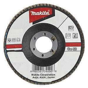 Фотография товара круг лепестковый торцевой Makita 180х22.2мм К40 (D-28531) (105704)