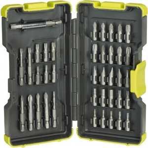 Набор бит Ryobi 40шт RAK40SD (5132002257)  набор инструментов ryobi r18ck4a ll99s