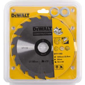 цена на Диск пильный DeWALT 190х30мм 18зубьев (DT 1152)