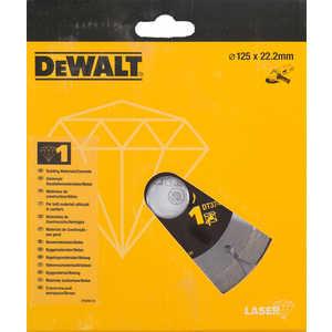 Диск алмазный DeWALT 125х22.2мм (DT 3741)