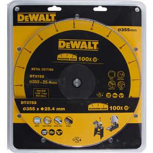 Диск алмазный DeWALT 355х25.4мм (DT 3752) диск отрезной алмазный сибртех сегментный