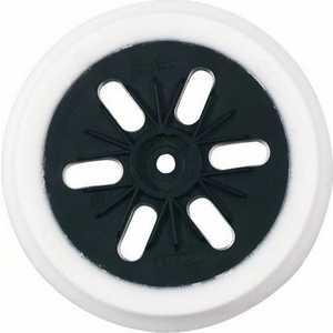 Тарелка опорная Bosch 150мм на липучке (2.608.601.052) тарелка опорная bosch 150мм мягкая для gex 2 608 601 115