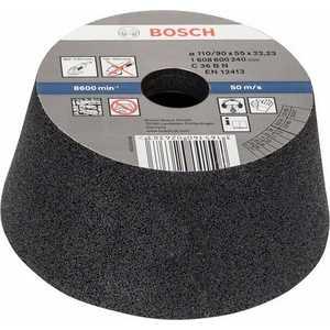 Чашка коническая Bosch 110/90х55мм K36 по камню (1.608.600.240) k36 450g