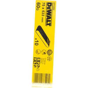 Шлифлента DeWALT 75х533мм К60 10шт (DT 3302)