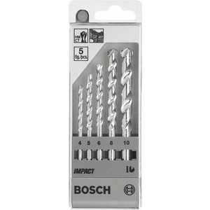 Набор сверл по бетону Bosch 4.0-10.0мм 5шт Impact (1.609.200.228)