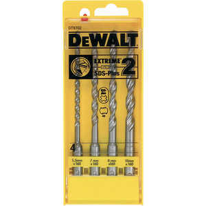 Набор буров SDS-Plus DeWALT 5.5-10мм 4шт (DT 9702)