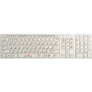 Oklick 555S Multimedia Keyboard White USB + USB порт