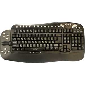 Oklick 780L Multimedia Keyboard Black USB + USB port