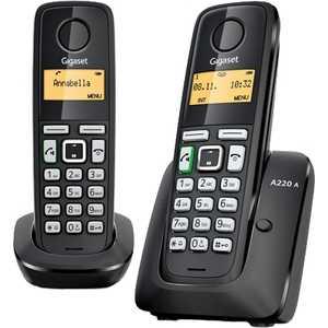 Радиотелефон Gigaset A220A Duo Black