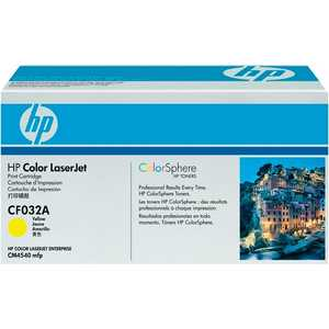 Картридж HP yellow CM4540 (CF032A) картридж hp 935 yellow c2p22ae