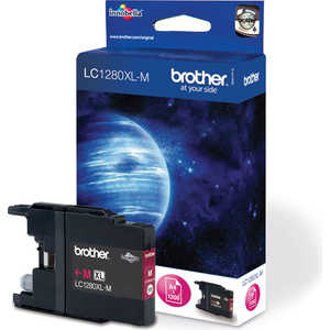 Картридж Brother LC1280XLM пурпурный brother lc985bk