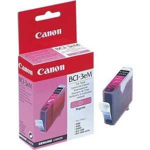 Картридж Canon BCI-3eM magenta (4481A002) картридж canon bci 3em для canon bc 31 bc 33 s600 пурпурный