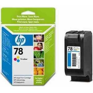 Картридж HP C6578A hp c6578a 78 трехцветный струйный картридж