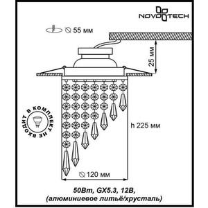 Купить точечный светильник Novotech 369400 (119535) в Москве, в Спб и в России