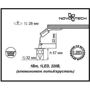 Фотография товара точечный светильник Novotech 357019 (119605)