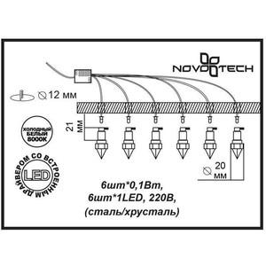 Точечный светильник Novotech 357021 точечный светильник novotech 369881