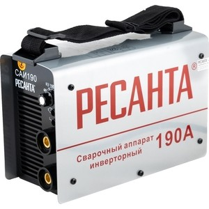 Сварочный инвертор Ресанта САИ 190 сварочный полуавтомат ресанта саипа135