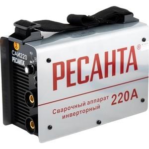 Сварочный инвертор Ресанта САИ 220 сварочный инвертор elitech аис 160н