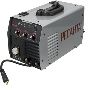 Купить со скидкой Инверторный сварочный полуавтомат Ресанта САИПА- 220