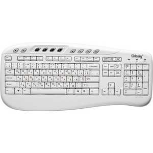 Клавиатура Chicony KB-0503-W White PS/2