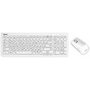 Комплект Chicony WUG1051 White USB
